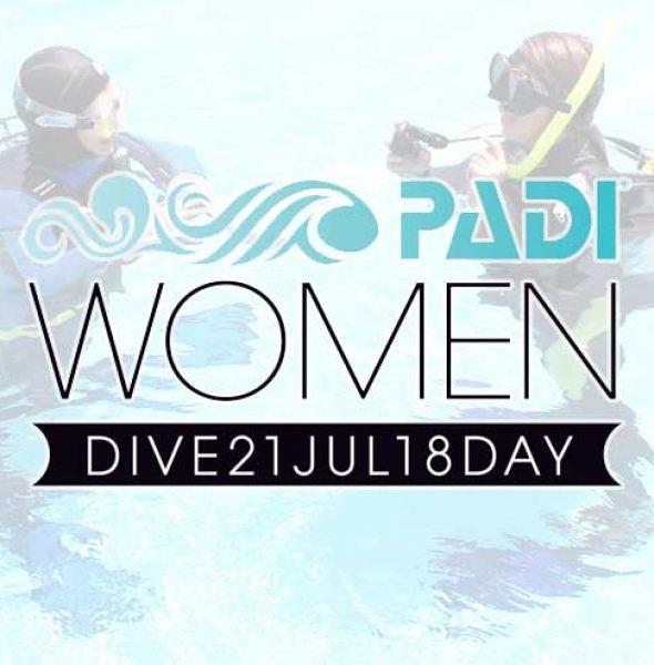 Ημέρα κατάδυσης γυναικών PADI 2018